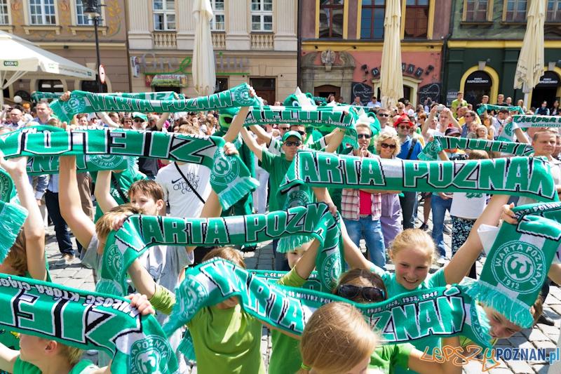 100 lat Warty Poznań - event na Starym Rynku  Foto: lepszyPOZNAN.pl / Piotr Rychter