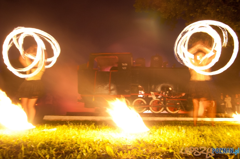 """Widowisko """"Ogień, para, dźwięk"""" na 40-lecie Maltanki - Poznań 21.07.2012 r.  Foto: LepszyPOZNAN.pl / Paweł Rychter"""
