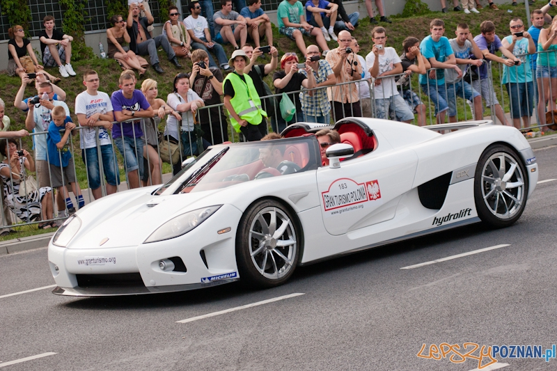 Gran Turismo Polonia 2012 - Pokazy uliczne - Ponań 01.07.2012 r.  Foto: LepszyPOZNAN.pl / Paweł Rychter