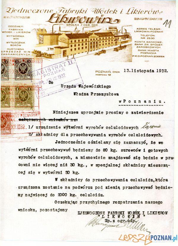 Likwowin, Mostowa 12  Foto: Muzeum Narodowe w Poznaniu, wystawa Miejska ikonosfera na drukach reklamowych z widokami Poznania 18