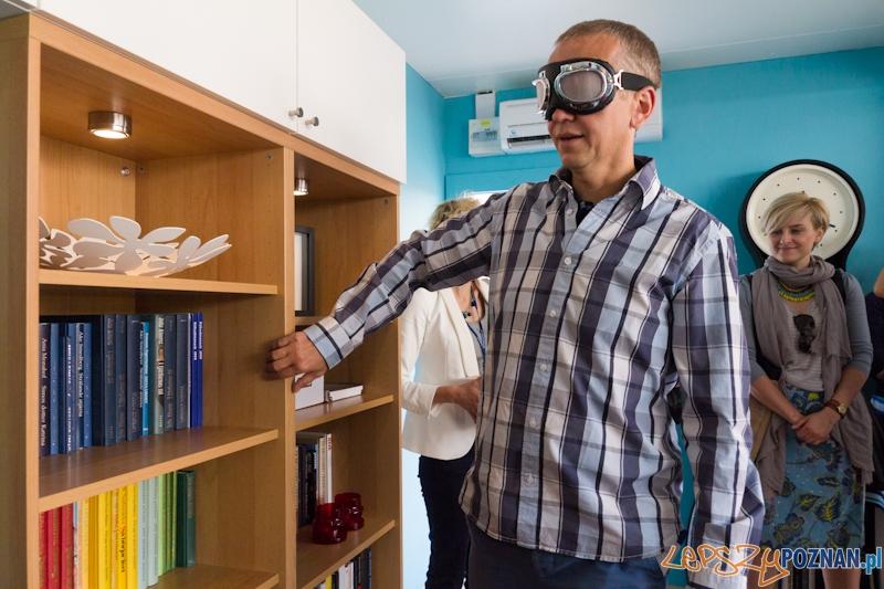 """""""Niewidzialne Mieszkanie"""" - każdy może poczuć się jakby stracił wzrok  Foto: lepszyPOZNAN.pl / Piotr Rychter"""
