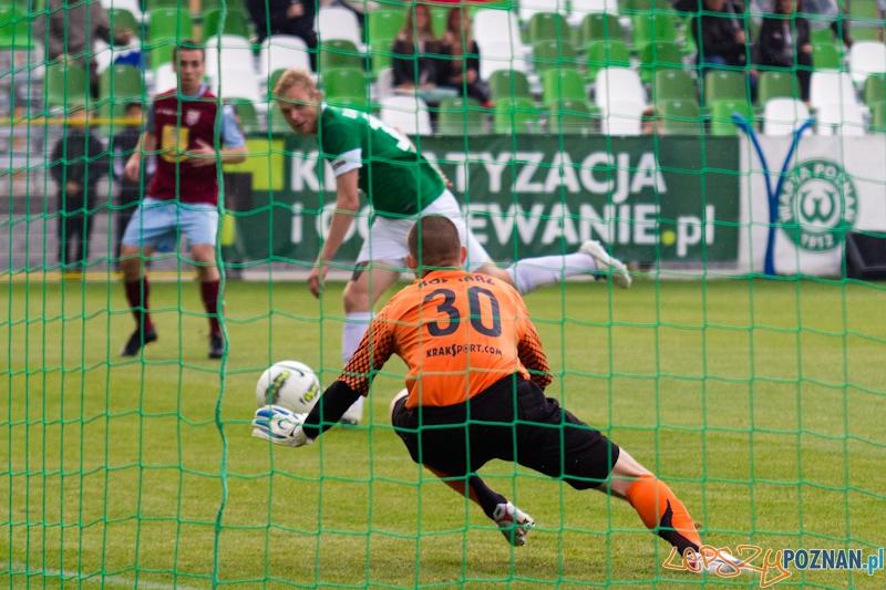 Warta Poznań - Kolejarz Stróże. 9 kolejka I ligi - Poznań 22.09.2012 r.  Foto: lepszyPOZNAN.pl / Piotr Rychter