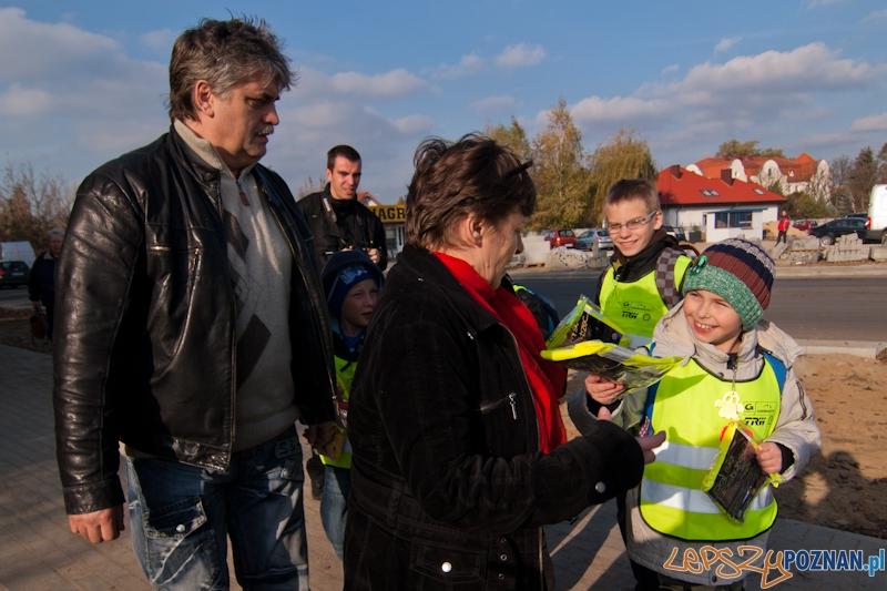 """""""Daj się dostrzec"""" - Poznań 31.10.2012 r.  Foto: LepszyPOZNAN.pl / Paweł Rychter"""