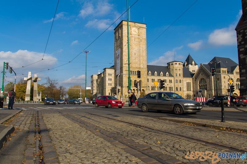 Ulica Towarowa widok na Święty Marcin  Foto: lepszyPOZNAN.pl / Piotr Rychter
