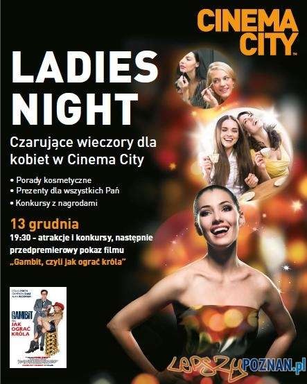 Ladies Night w Cinema City  Foto: Ladies Night w Cinema City