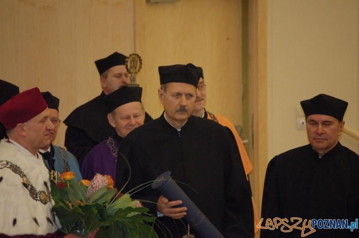 Doktorat honoris causa dla profesora Jana Węglarza  Foto: Politechnika Poznańska