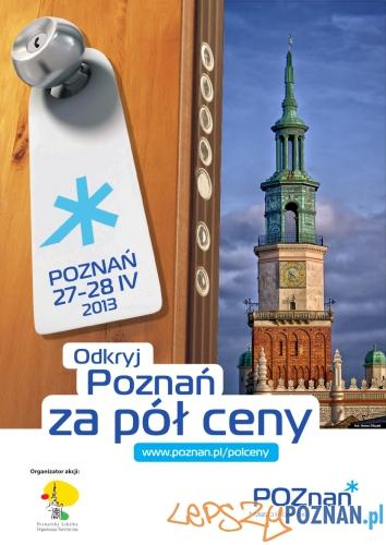Poznań za pół ceny 2013  Foto: Poznań za pół ceny 2013