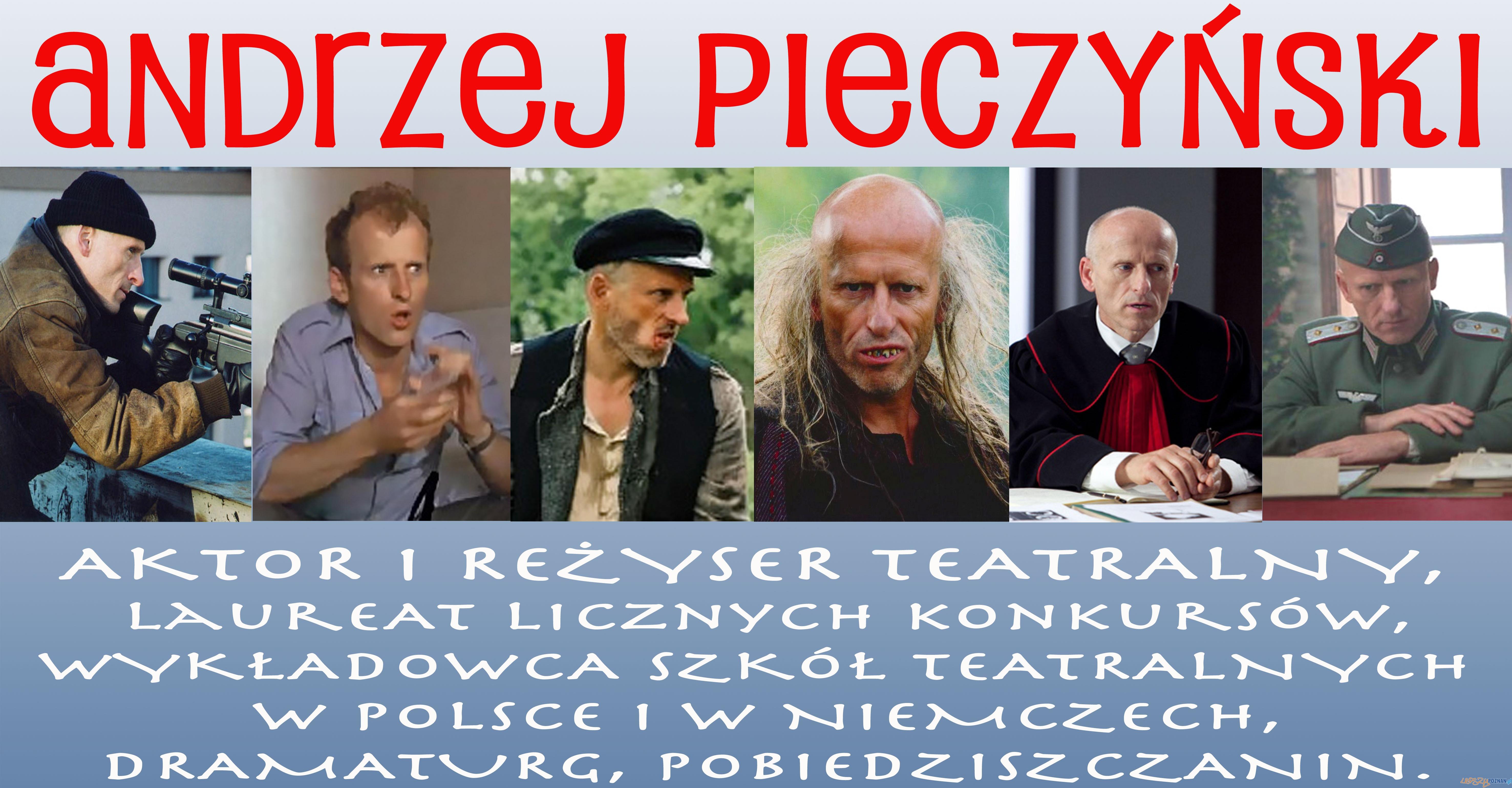 Laboratorium Karier w Pobiedziskach z aktorem Andrzejem Pieczyńskim  Foto: Laboratorium Karier w Pobiedziskach z aktorem Andrzejem Pieczyńskim