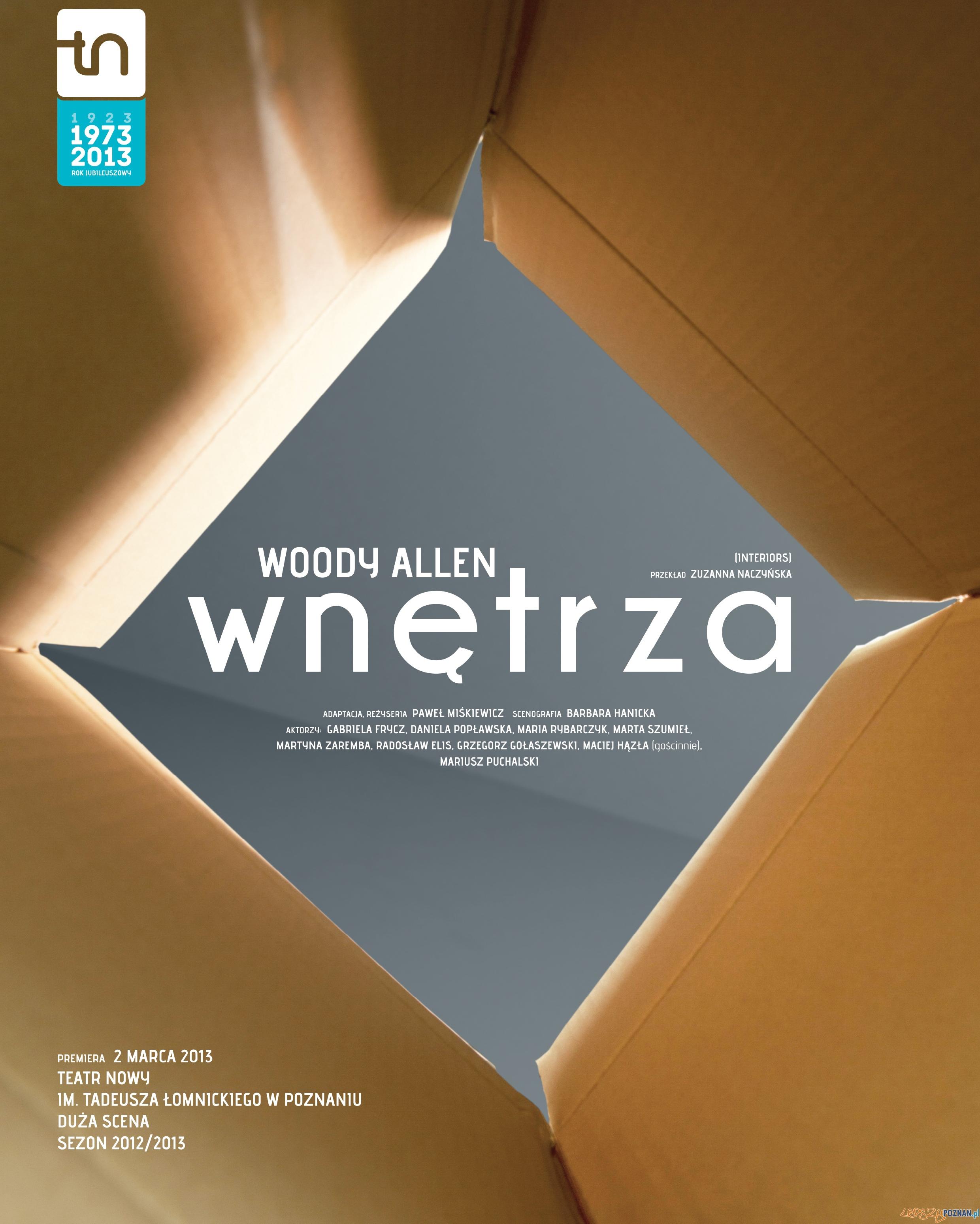 Wnętrza  Foto: Teatr Nowy w Poznaniu