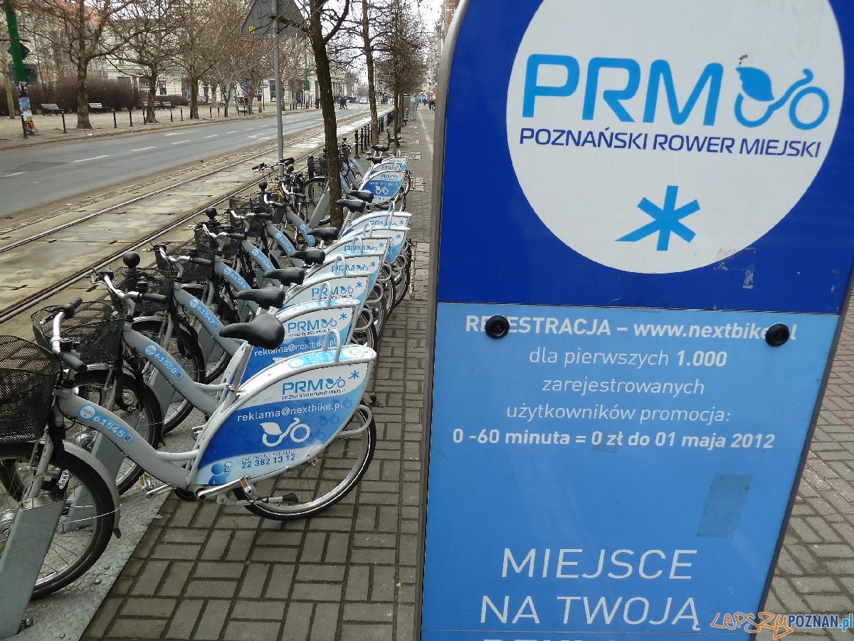 Rowery miejskie  Foto: Maciej Koterba