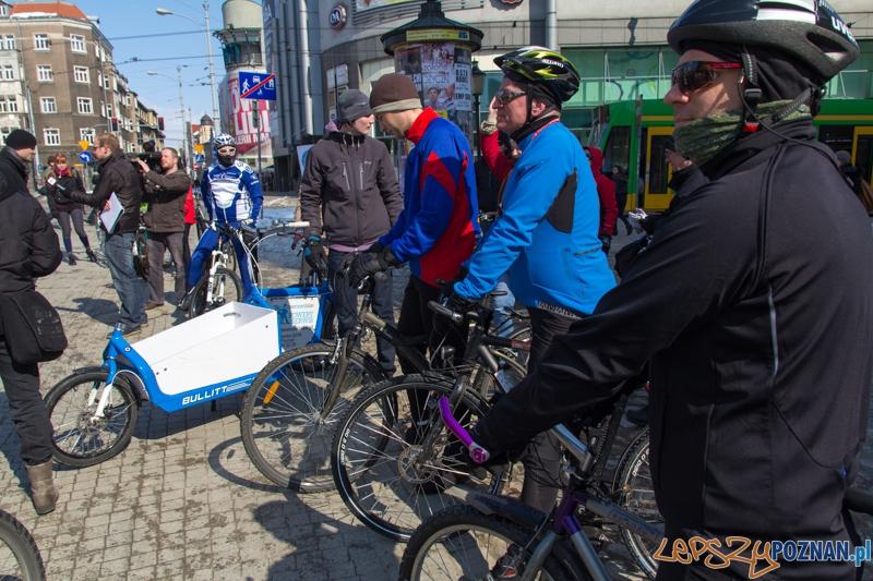 Rowerowe powitanie wiosny  Foto: lepszyPOZNAN.pl / Piotr Rychter