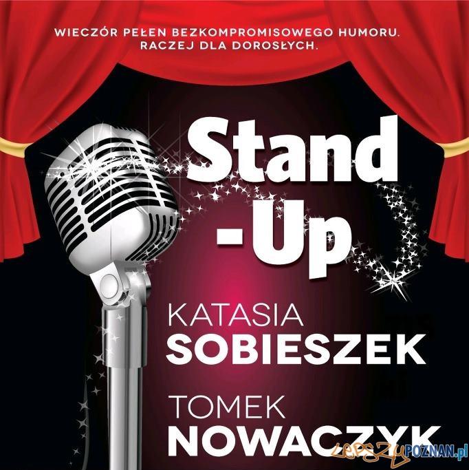 Stand-Up w Cafe Mięsna - Katasia Sobieszek i Tomek Nowaczyk  Foto: Stand-Up w Cafe Mięsna - Katasia Sobieszek i Tomek Nowaczyk