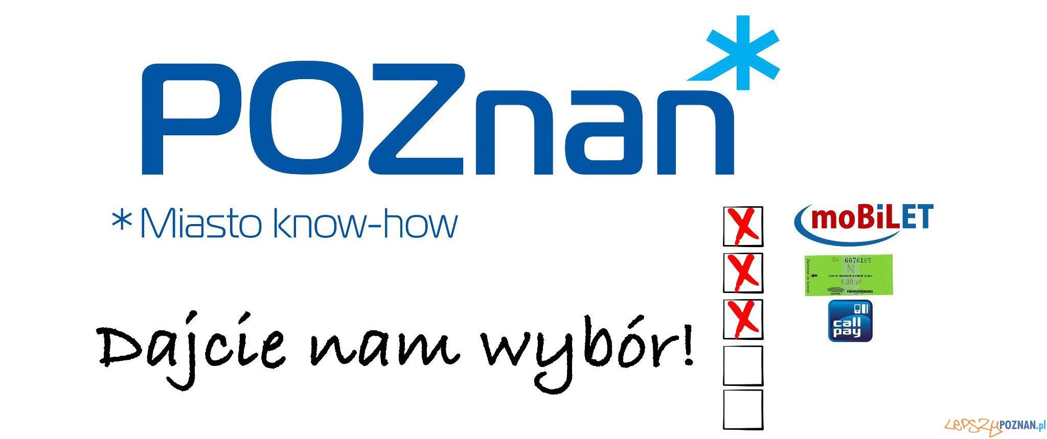Poznań - dajcie nam wybór! Chcemy korzystać z Mobilet i INNYCH aplikacji!  Foto: Poznań - dajcie nam wybór! Chcemy korzystać z Mobilet i INNYCH aplikacji!