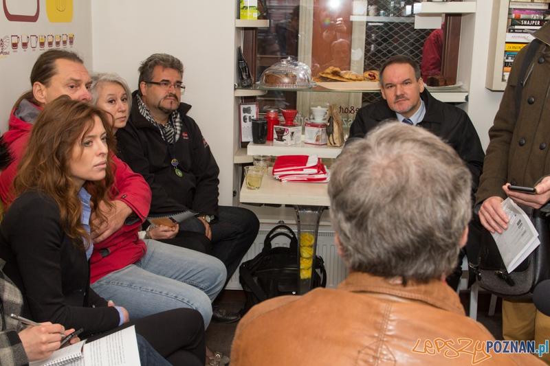 Gołębia inspiruje - konferencja prasowa  Foto: lepszyPOZNAN.pl / Piotr Rychter