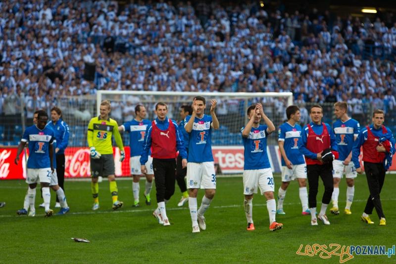 Lech Poznań - Zagłebie Lubin - Stadion Miejski 21/04.2013 r.  Foto: lepszyPOZNAN.pl / Piotr Rychter