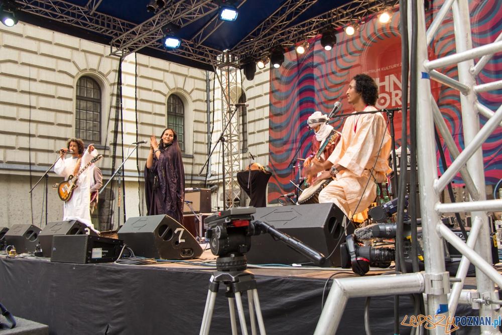 Występ zespołu Tamikrest (Mali) - EthnoPort 2013  Foto: Bartosz Lewandowski