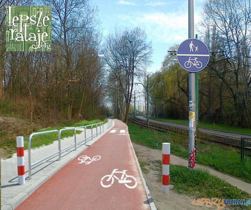 Sciezka rowerowa  Foto: Stowarzyszenie Lepsze Rataje