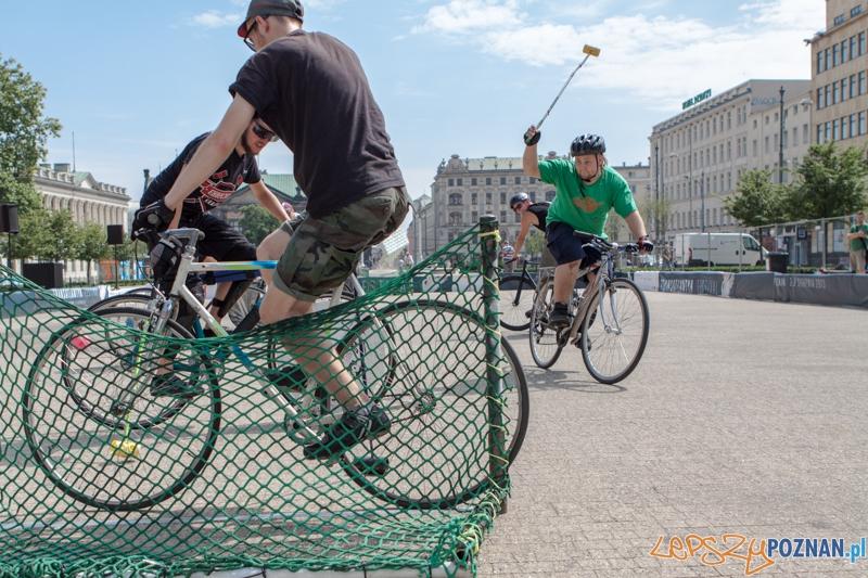 Bike Polo na Placu Wolności - Poznań 27-28.07.2013 r.  Foto: LepszyPOZNAN.pl / Paweł Rychter