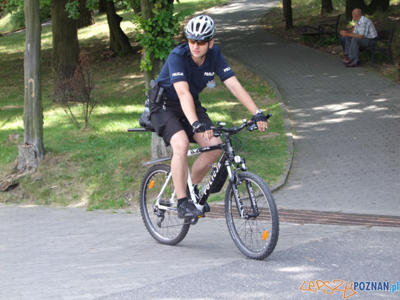 Policjanci na rowerach (40  Foto: Policja w Poznaniu