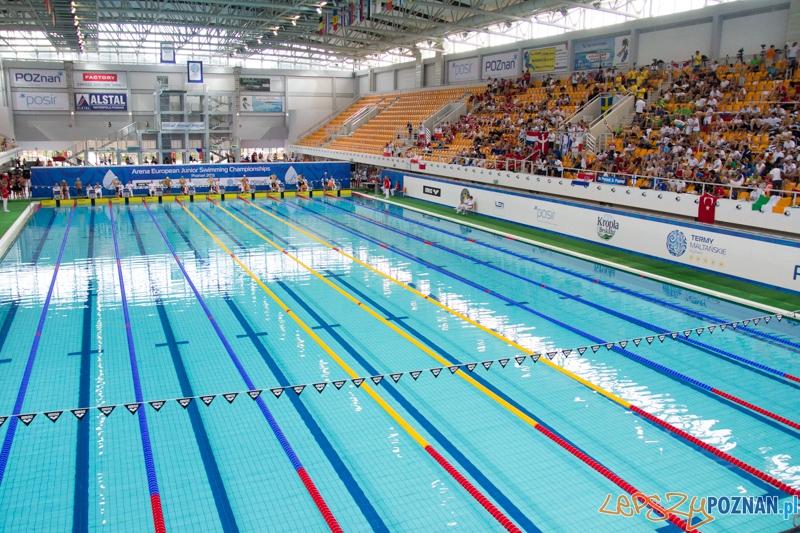 Mistrzostwa Europy Juniorów w Pływaniu - Termy Maltańskie   Foto: lepszyPOZNAN.pl / Piotr Rychter