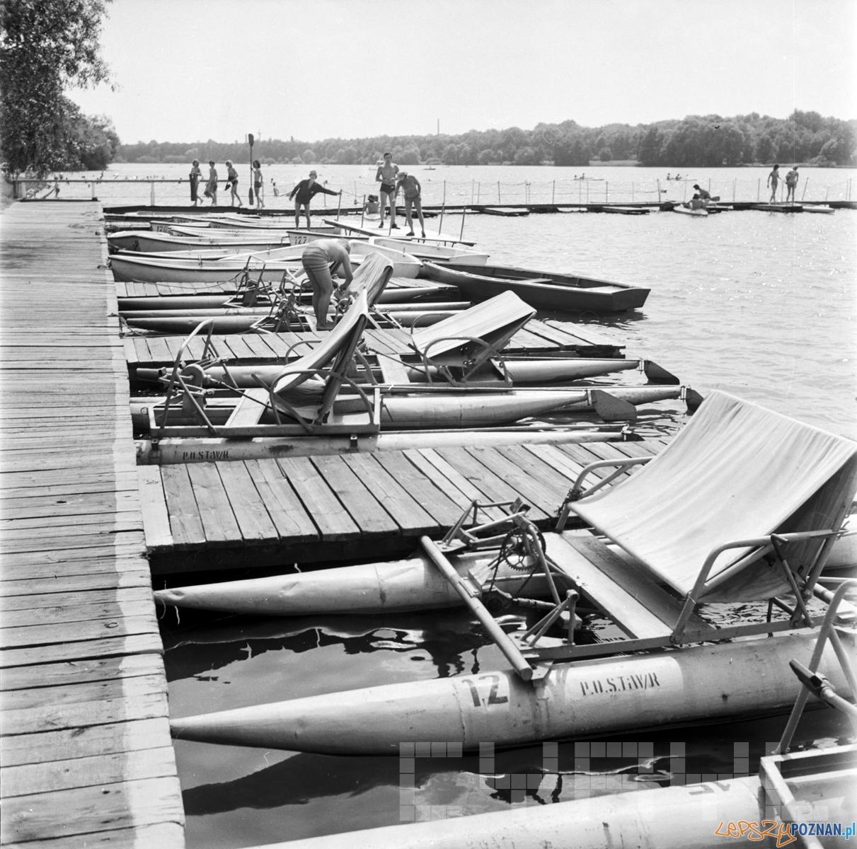 Ośrodek wodny w okolicy Poznania - 1974 rok  Foto: CYRYL / Stanisław Wiktor