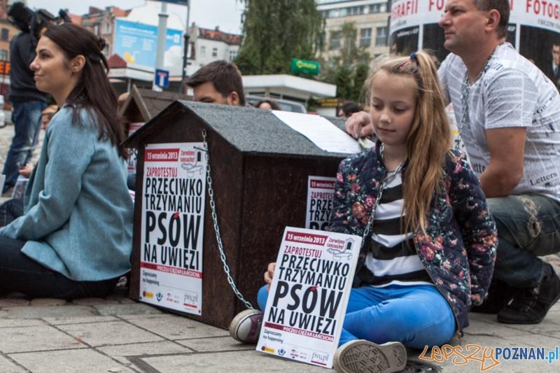 Protest Zerwijmy Łańcuchy - 15.09.2013 r.  Foto: LepszyPOZNAN.pl / Paweł Rychter