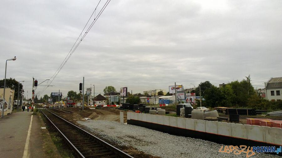 Zamknięty przejazd kolejowy na Dębcu (11)  Foto: TD