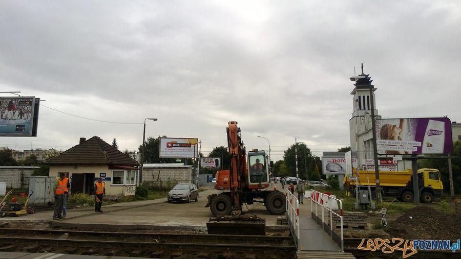 Zamknięty przejazd kolejowy na Dębcu (7)  Foto: TD
