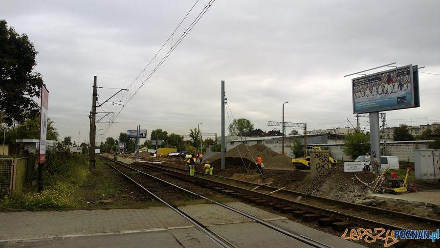 Zamknięty przejazd kolejowy na Dębcu (8)  Foto: TD