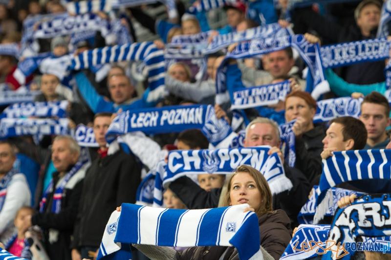 10. kolejka T-Mobile Ekstraklasy Lech Poznań - Widzew Łódź  Foto: lepszyPOZNAN.pl / Piotr Rychter