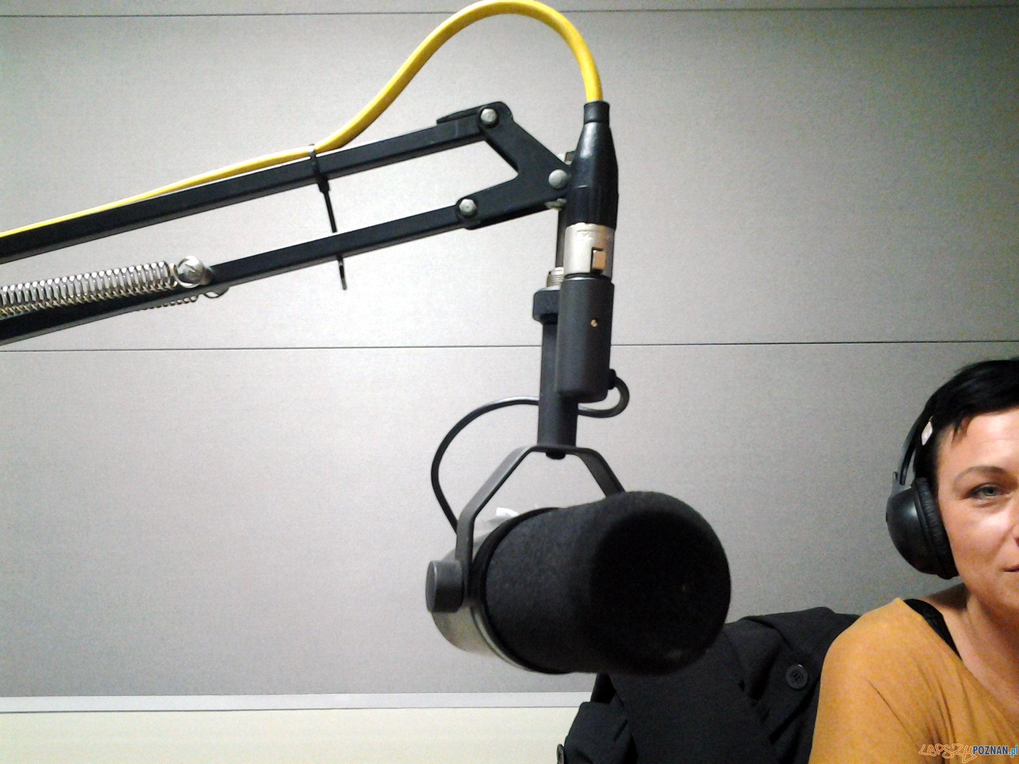 W radiu BLUE FM  Foto: lepszyPOZNAN.pl / tab