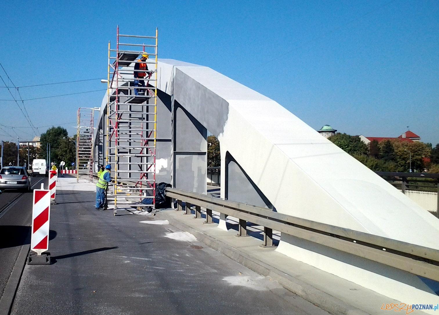 Remont mostu św. Rocha  Foto: lepszyPOZNAN.pl / tab 10.1