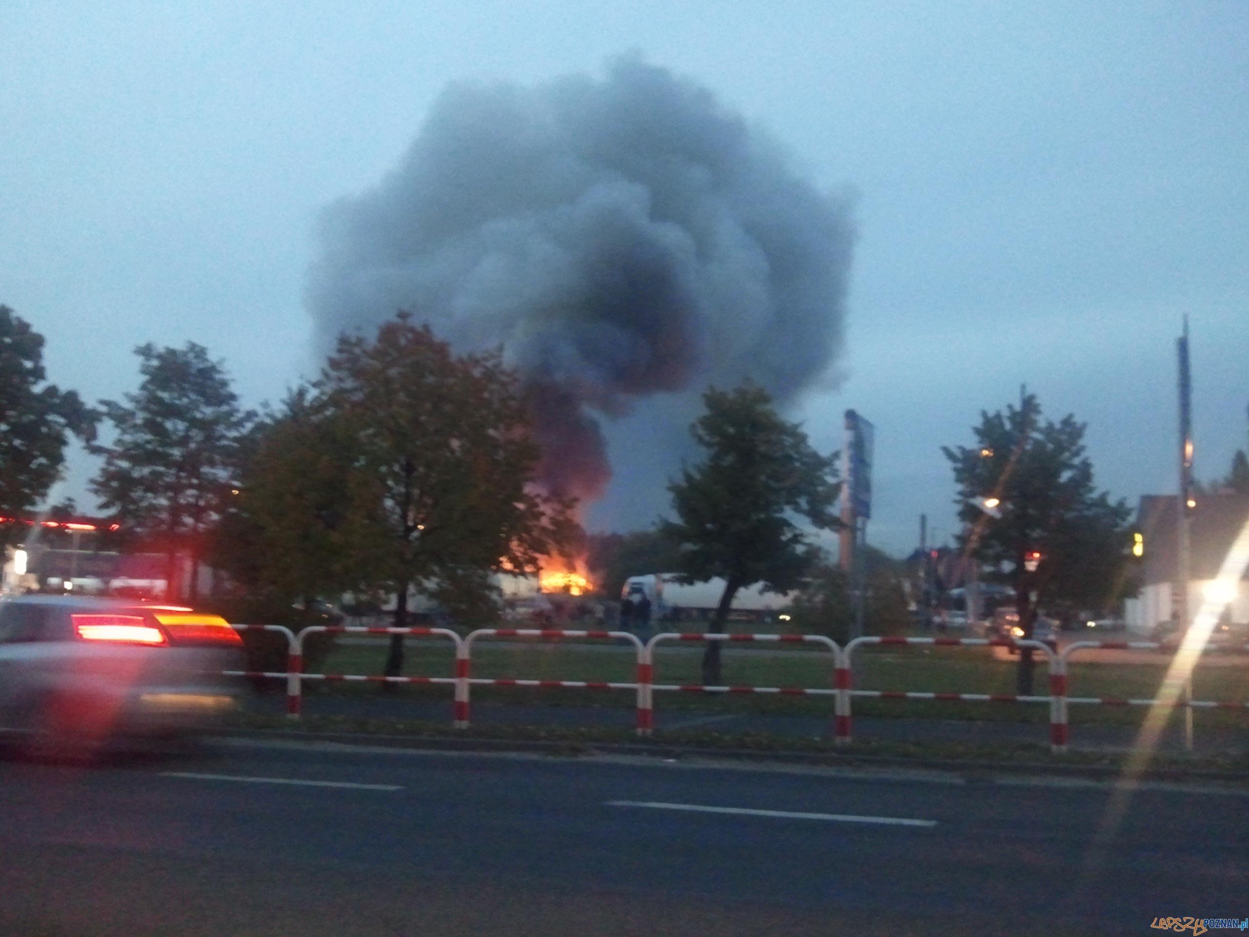 Pożar w Swarzędzu  Foto: news@lepszypoznan.pl