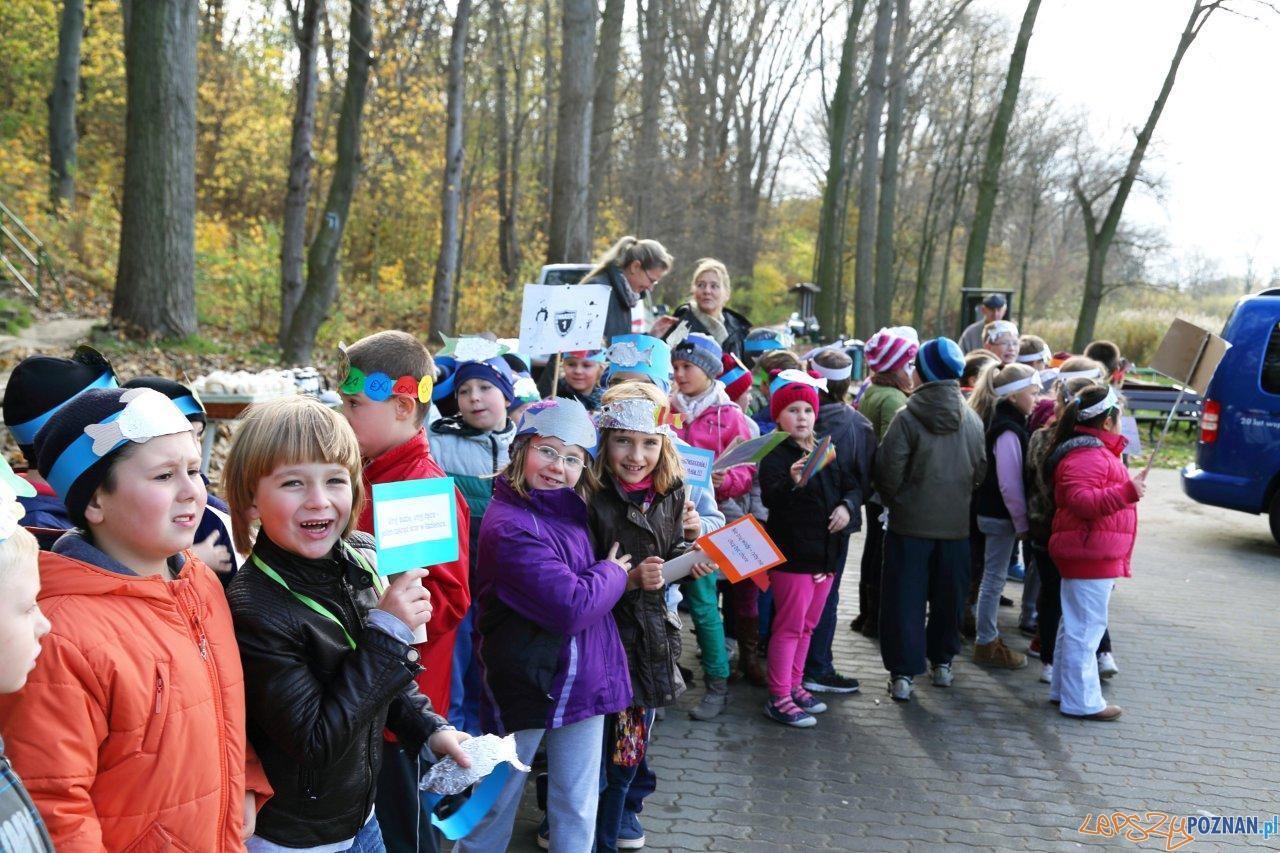 Dzieciaki pomagają w zarybianiu jeziora Swarzędzkiego  Foto: materiały prasowe VW Poznań