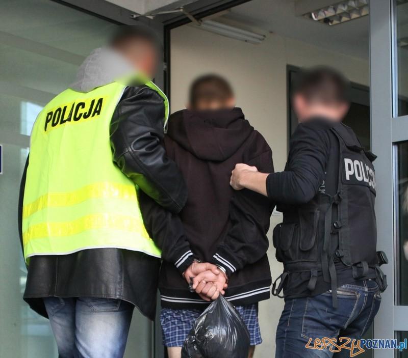 Zatrzymany przez policje z Wildy  Foto: materiały policji