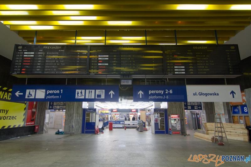 Dworzec Główmy  Foto: lepszyPOZNAN.pl / Piotr Rychter