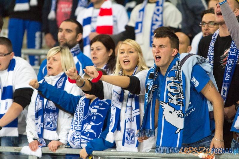 13. kolejka T-Mobile Ekstraklasy Lech Poznań - Legia Warszawa (najlepsi kibice i najlepsza oprawa)  Foto: lepszyPOZNAN.pl / Piotr Rychter