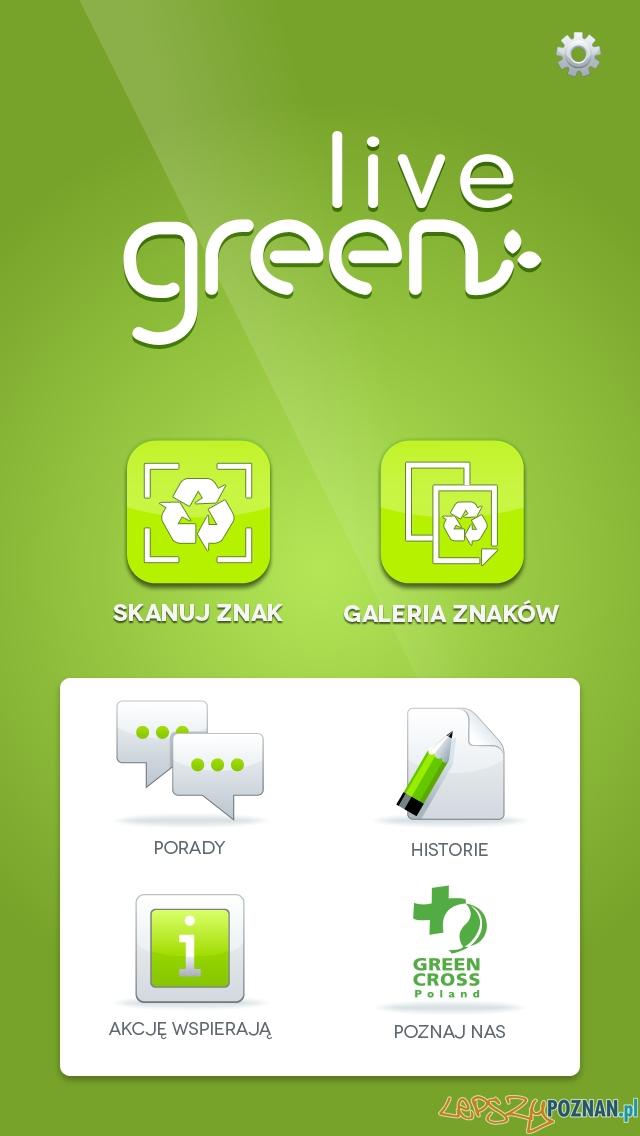 Green Live aplikacja przygotowana we współpracy z UEP  Foto: