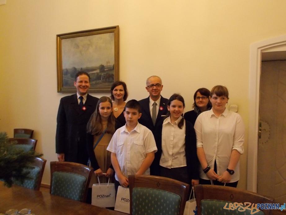 Spotkanie z Prezydentem Miasta Poznania  Foto: SP nr. 9
