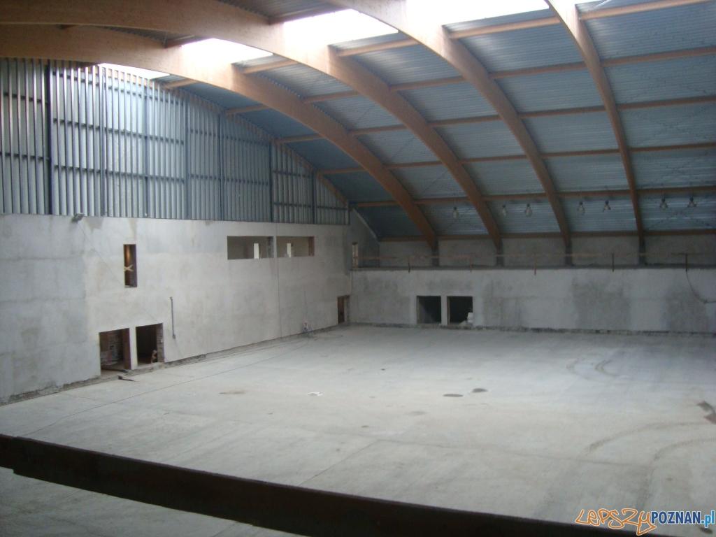 Rokietnicki Ośrodek Sportu - budowa hali  Foto: ROS