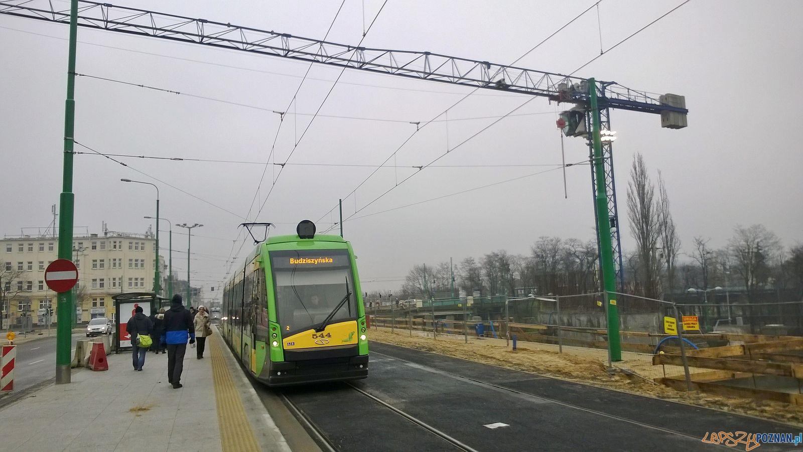 Tramwaje wróciły na Kaponierę  Foto: lepszyPOZNAN.pl / TD