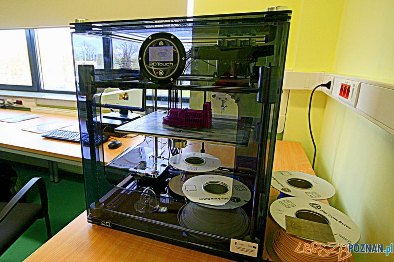 Laboratorium Technik Informatyk. Drukarka 3D.  Foto: Przemysław Kozakiewicz
