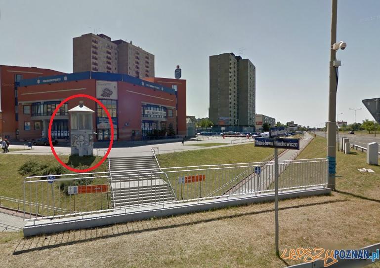 ZDM poszukuje właściciela kiosku - Poznań 27.01.2014 r.  Foto: Google Maps