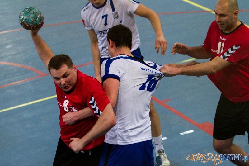 MKS Poznań -  WKS Grunwald Poznań - 28:27 - Poznań 1.02.2014 r.  Foto: LepszyPOZNAN.pl / Paweł Rychter