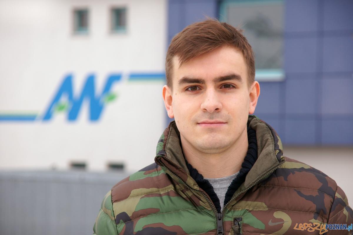 Jan Szymański  Foto: AWF Poznań