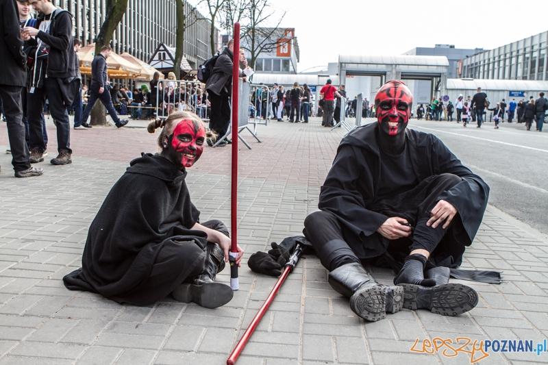 """Festiwal Fantastyki """"Pyrkon"""" - Poznań 22.03.2014 r.  Foto: LepszyPOZNAN.pl / Paweł Rychter"""