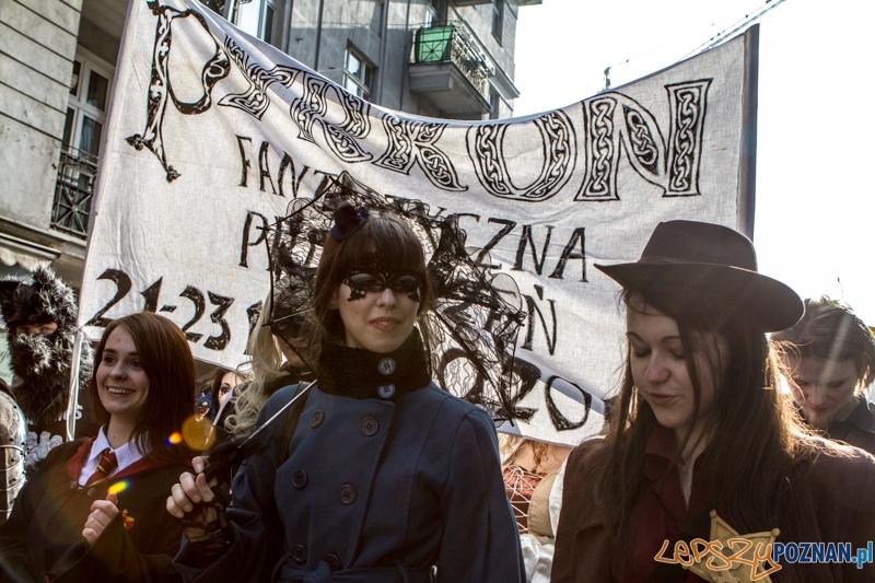 Fantastyczny Korowód na Festiwal Pyrkon 2014 - Poznań 01.03.2014 r.  Foto: LepszyPOZNAN.pl / Paweł Rychter