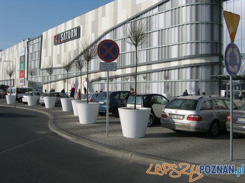 Parking przed PCC  Foto: Straż Miejska