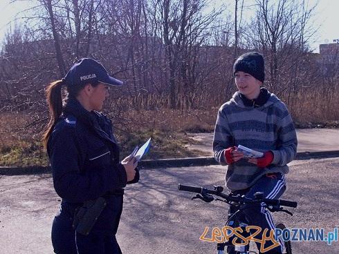Bezpieczny rower  Foto: Komenda Miejska Policji