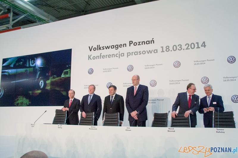 VW zostaje w Wielkopolsce  Foto: lepszyPOZNAN.pl / Piotr Rychter